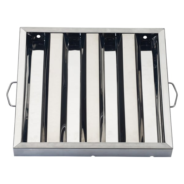 "Winco HFS1620 Hood Baffle Filter - 16"" x 20"", Stainless"