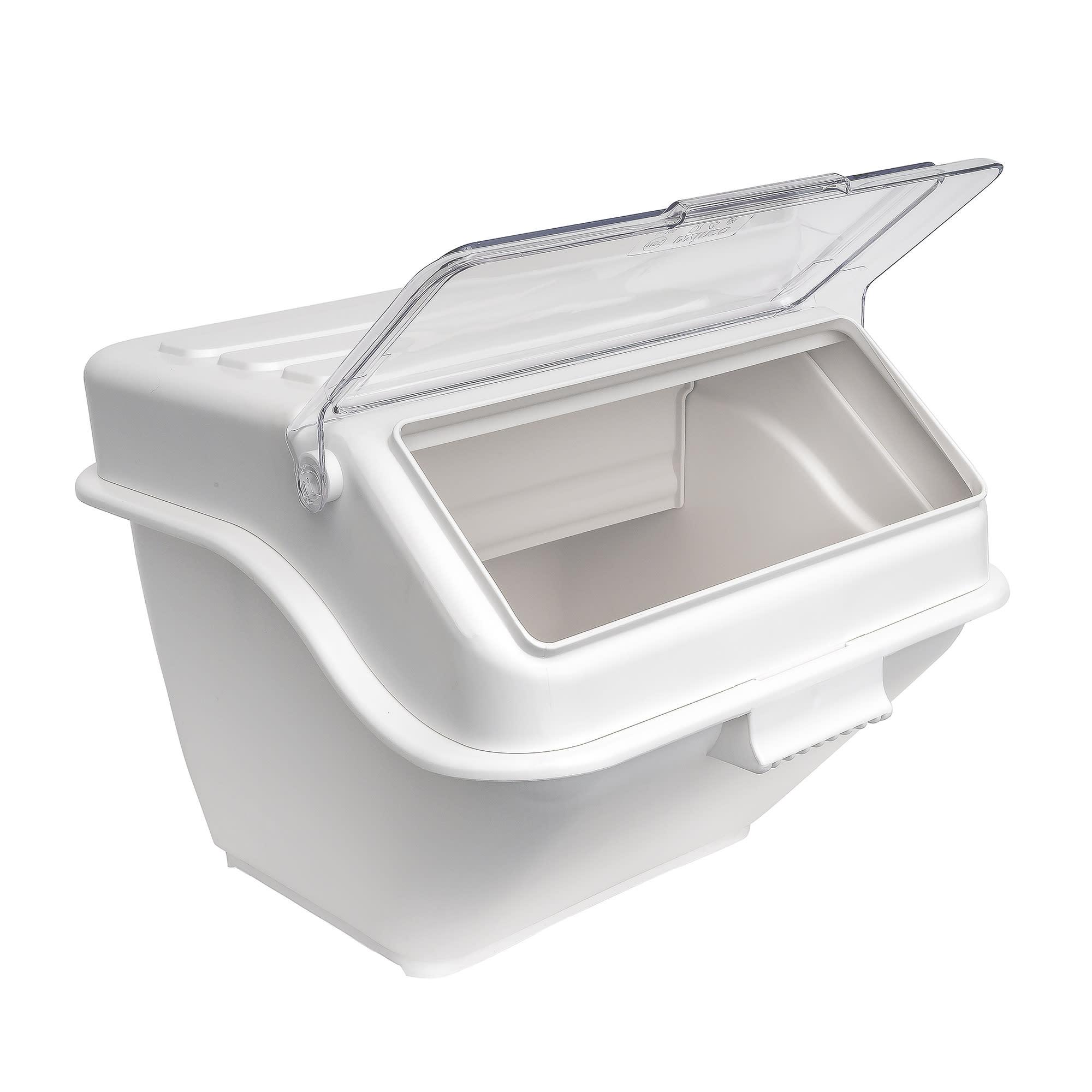 Winco IB-10S 10-gal Ingredient Bin - 150 Cup Capacity w/ Lid
