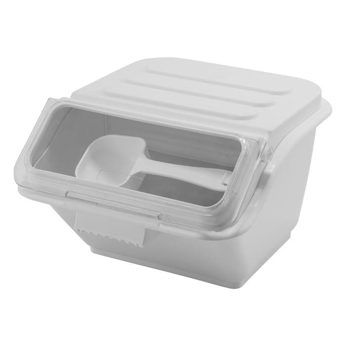 Winco IB-2S 2-gal Ingredient Bin - 40 Cup Capacity w/ Lid