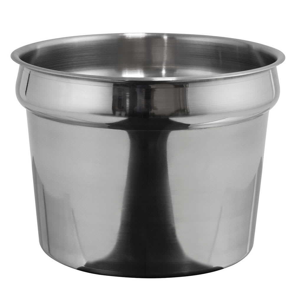 Winco INS-11.0M 11-qt Inset, Heavy Weight Stainless