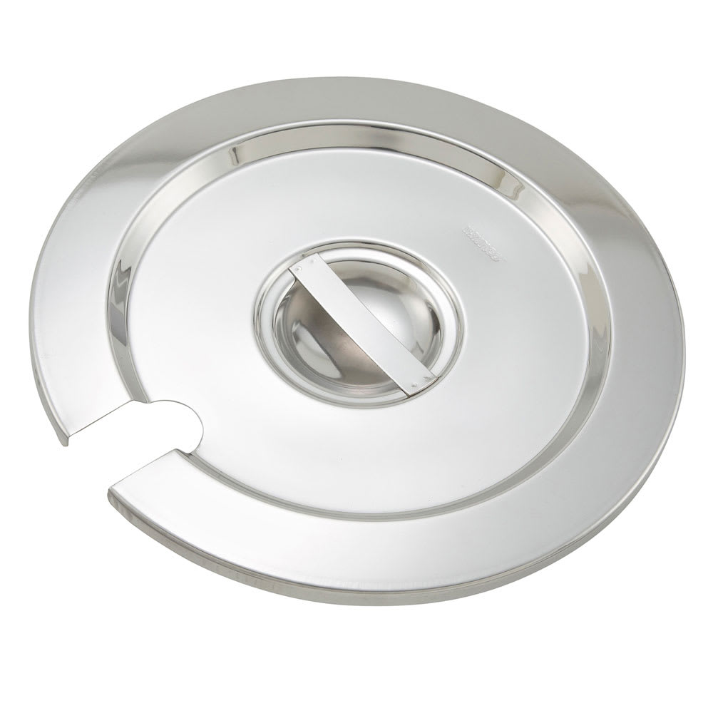 Winco INSC-2.5 Inset Cover for 2.5 qt, Stainless