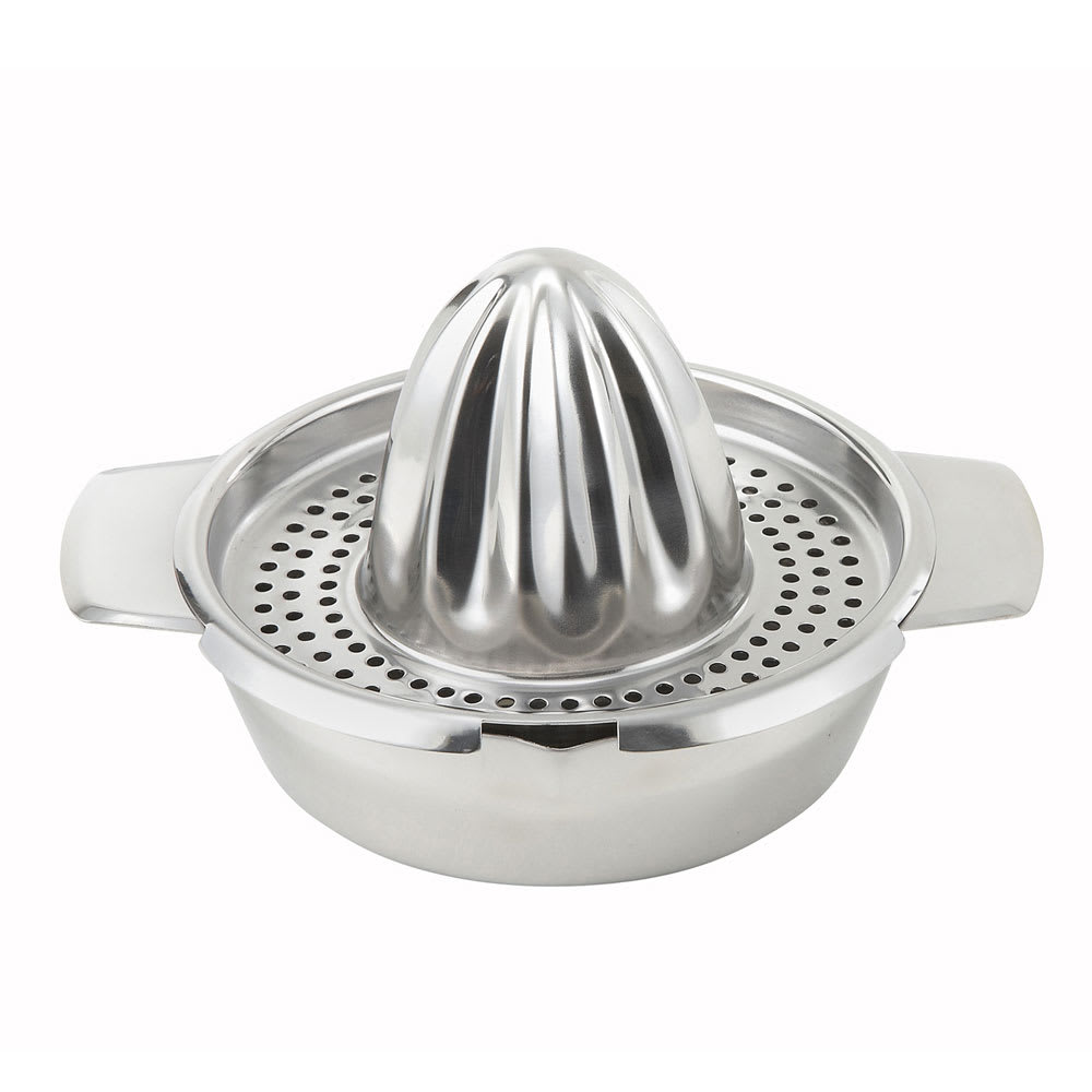 "Winco JC4 5"" Hand Citrus Juicer, Stainless"