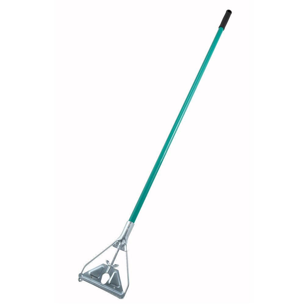 "Winco MOPH-7M 59"" Metal Mop Handle, Quick Change"