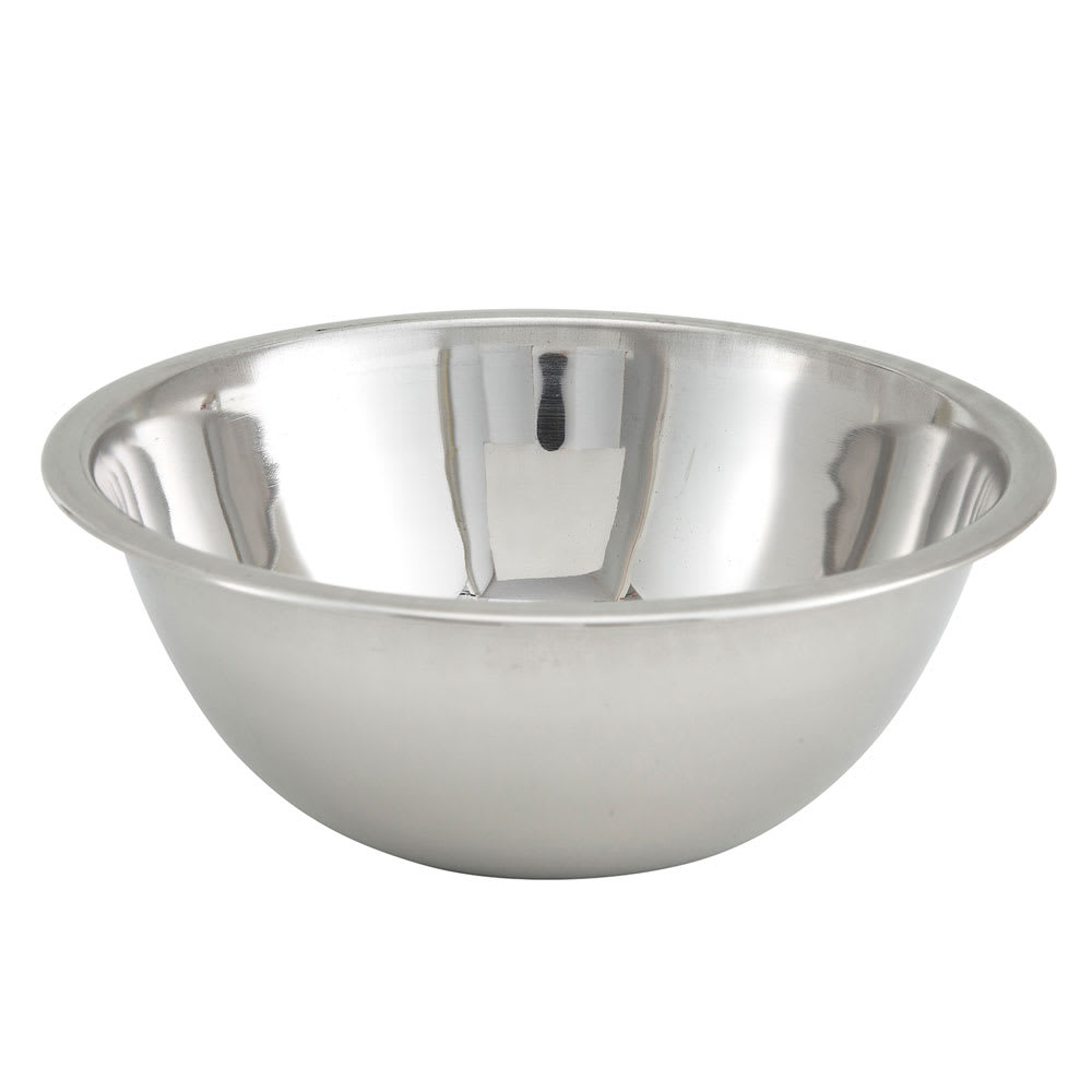 Winco MXB-400Q 4 qt Mixing Bowl, Stainless