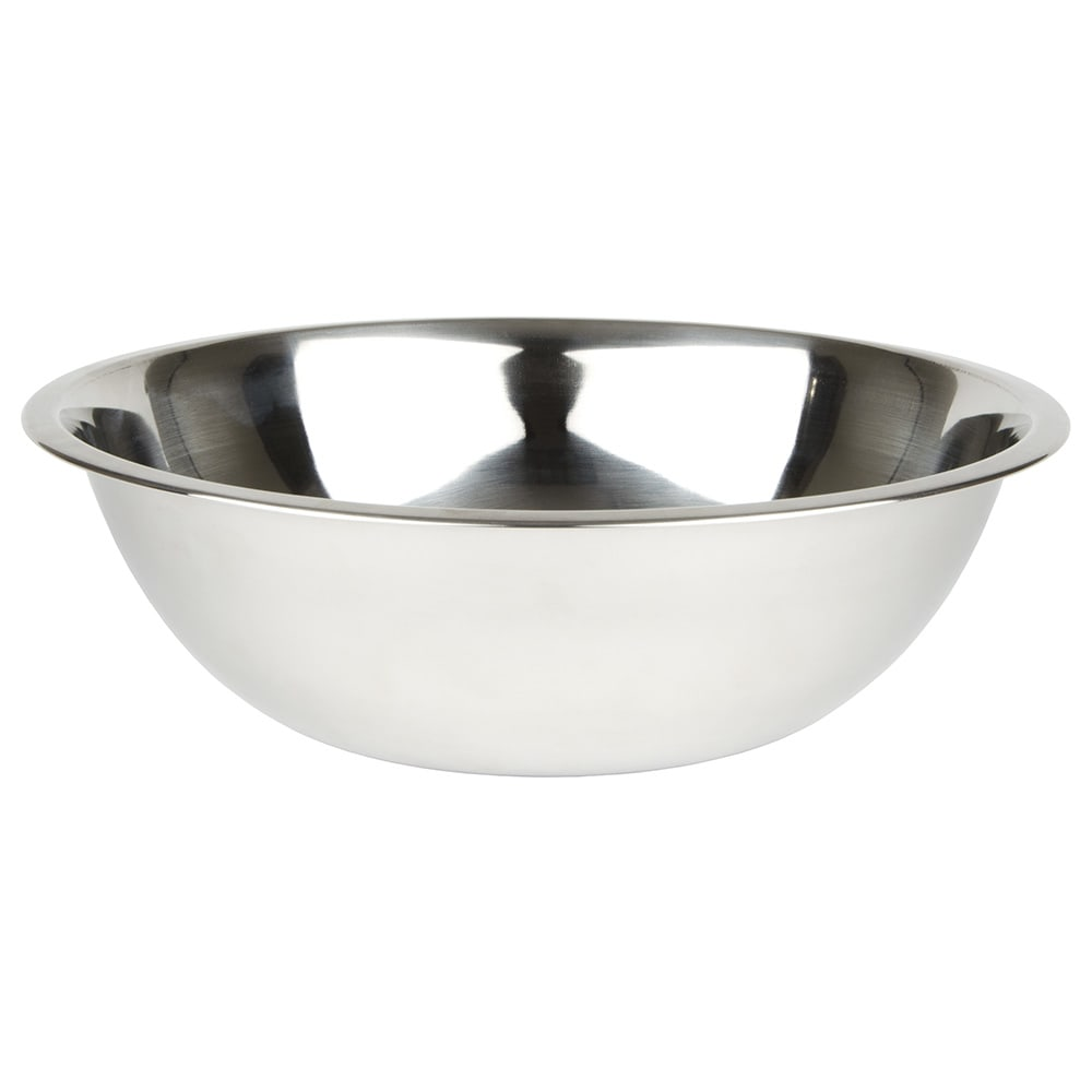 "Winco MXB-800Q Mixing Bowl, 8 qt. 13-1/4"" Diameter, Stainless Steel"