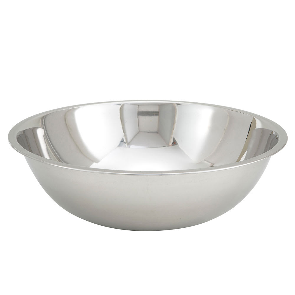 Winco MXBT-2000Q 20 qt Mixing Bowl - Stainless