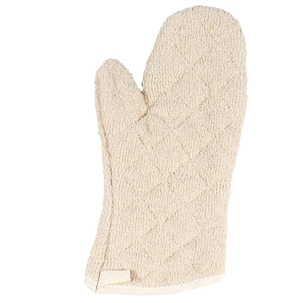 """Winco OMT-13 13"""" Terry Cloth Oven Mitt, Protects up to 600 F"""