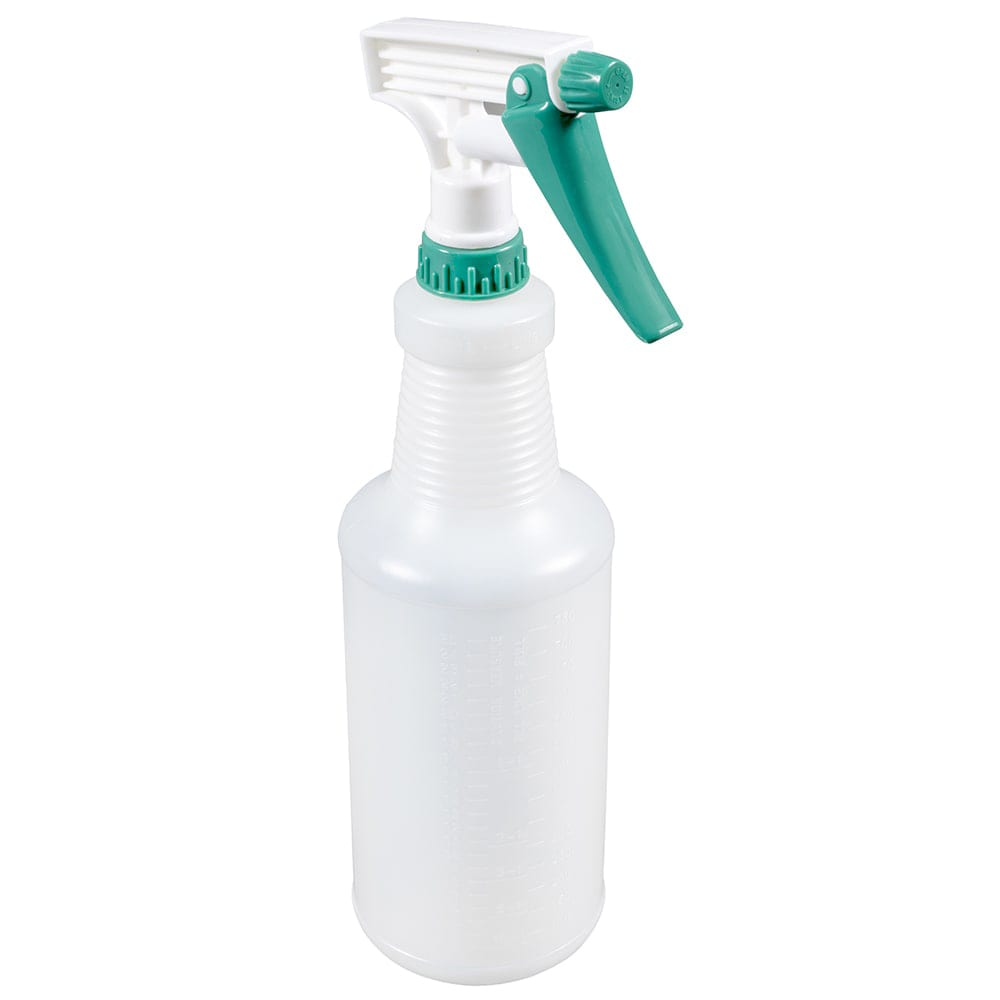 Winco PSR-9 28 oz Plastic Spray Bottle