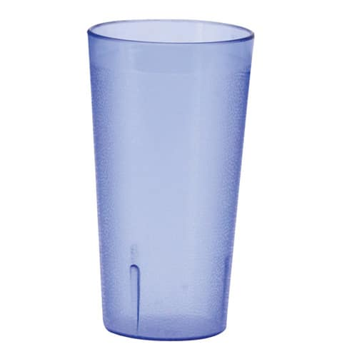 Winco PTP-20B 20 oz Pebbled Tumbler, Blue