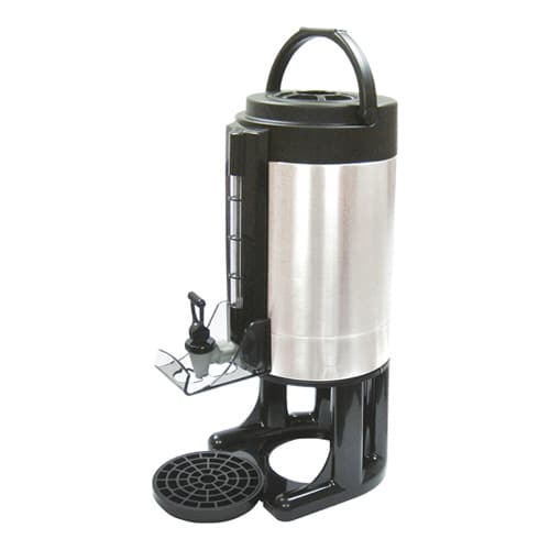 Winco SBD-1.5 1.5 gal Beverage Dispenser w/ Brew-Thru Lid, Stainless
