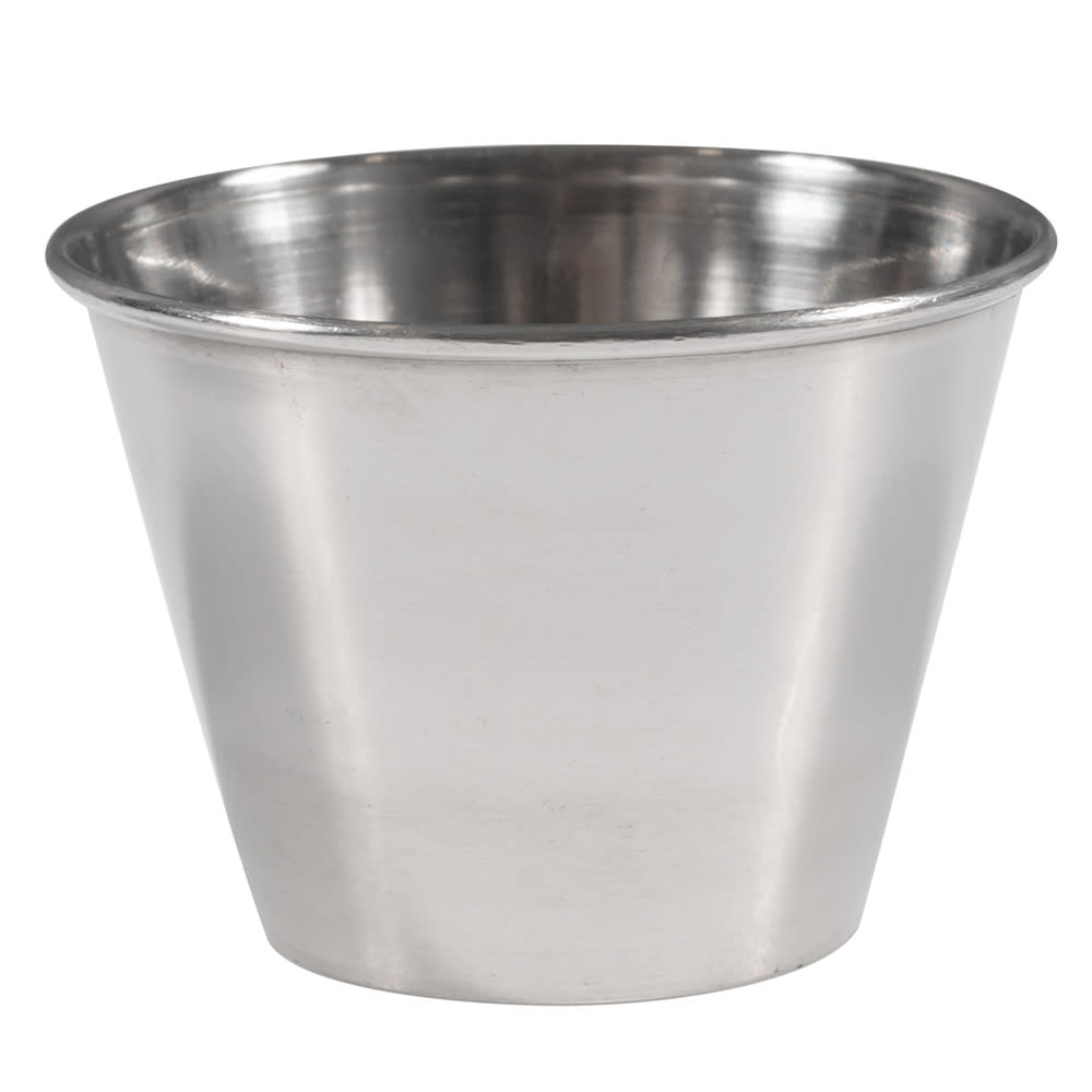 Winco SCP-25 2.5 oz Sauce Cup, Stainless