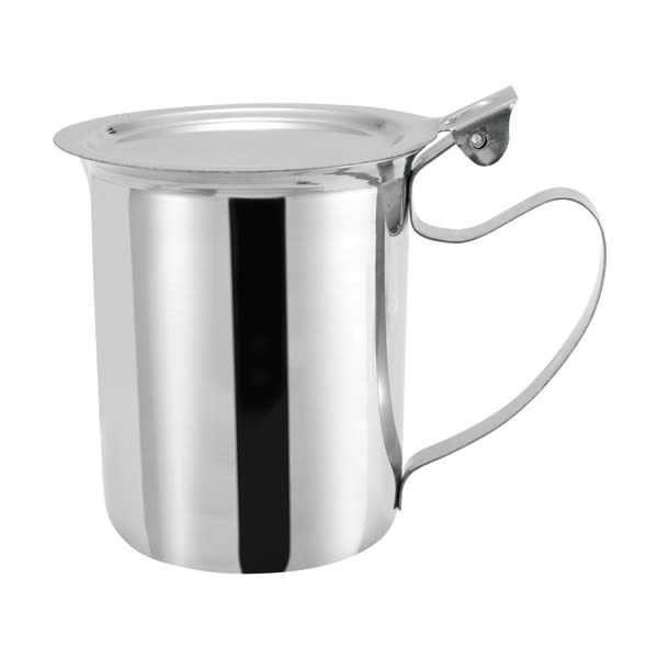 Winco SCT-10F 10 oz Stackable Server w/ Cover & Handle, Stainless