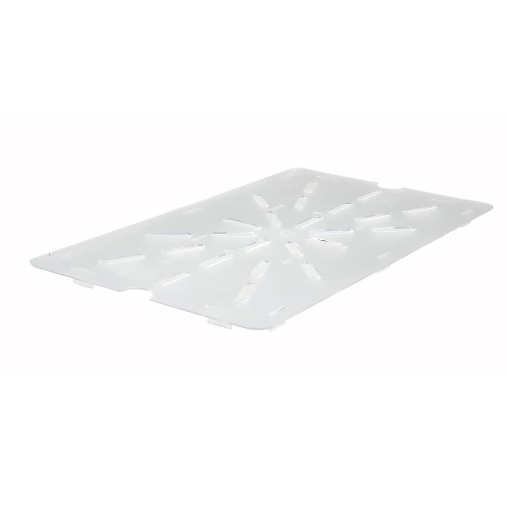 Winco SP71DS Full Size Poly-Ware Drain Shelf fits 12 x 20 Food Pan