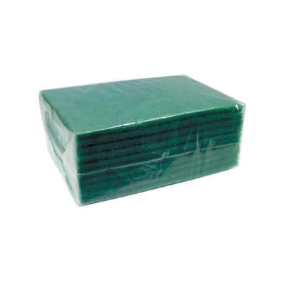 """Winco SP-96 Scouring Pad, 6 x 9 x .37"""", Green"""