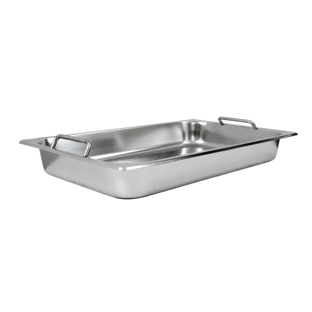 Winco SPF2-HD Full-Sized Steam Pan, Stainless