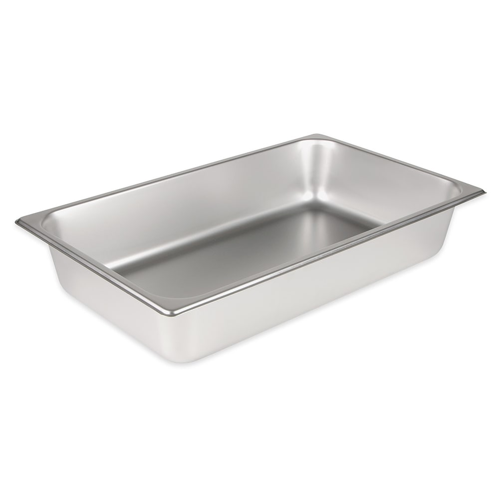 Winco SPF4 Full-Sized Steam Pan, Stainless
