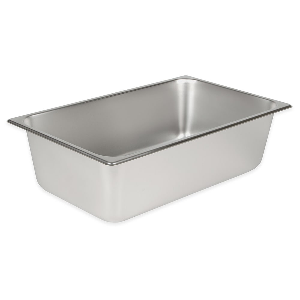 Winco SPF6 Full-Sized Steam Pan, Stainless
