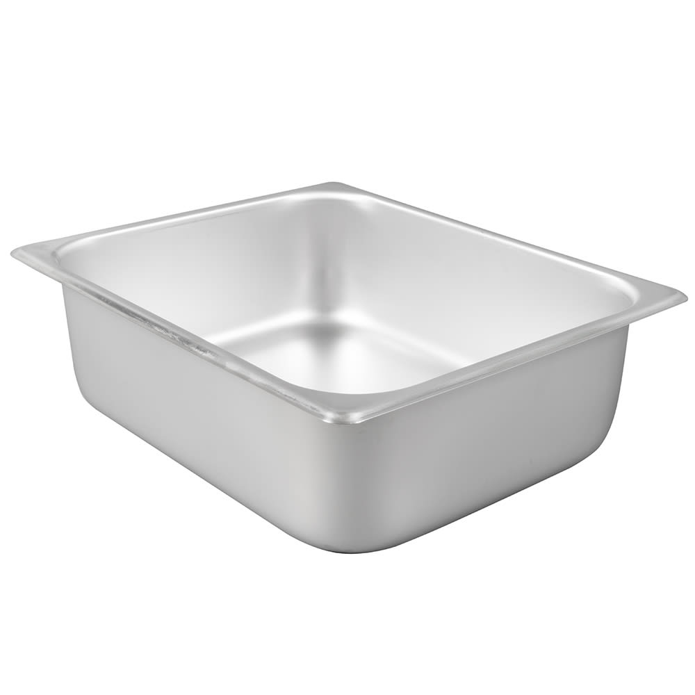 Winco SPH4 Half-Sized Steam Pan, Stainless