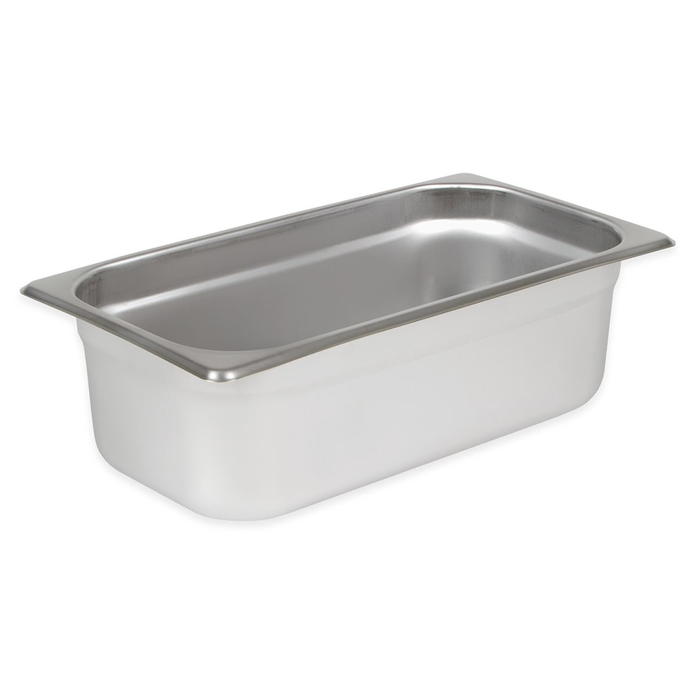 Winco SPJL-304 Third-Size Steam Pan, Stainless