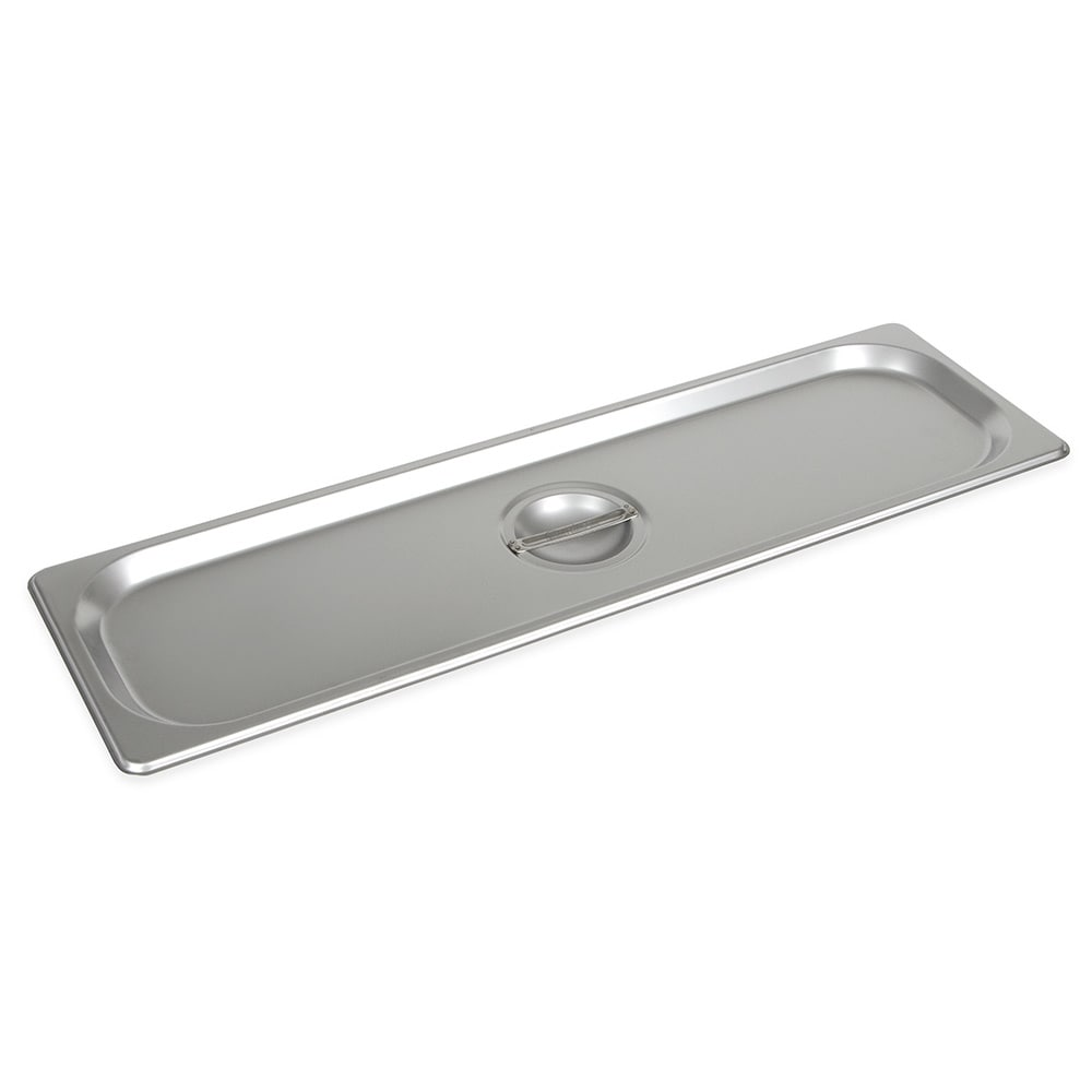 Winco SPJL-HCS Half-Sized Steam Pan Cover, Stainless