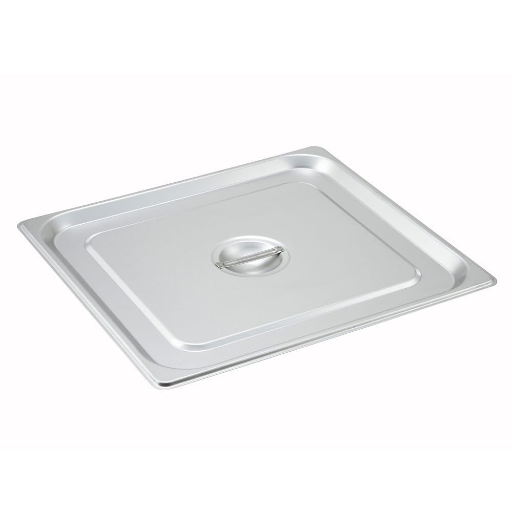 Winco SPSCTT Two-Third Size Steam Pan Cover, Stainless