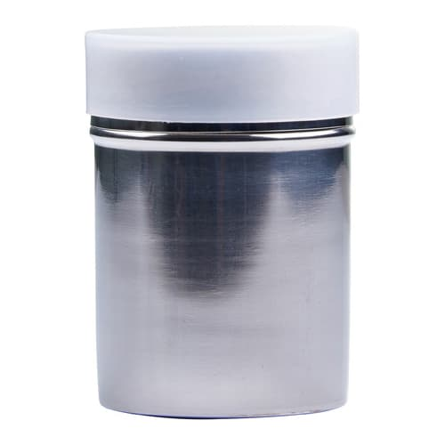 Winco SSD-10 10 oz Powdered Sugar Dispenser w/ Cover, Stainless