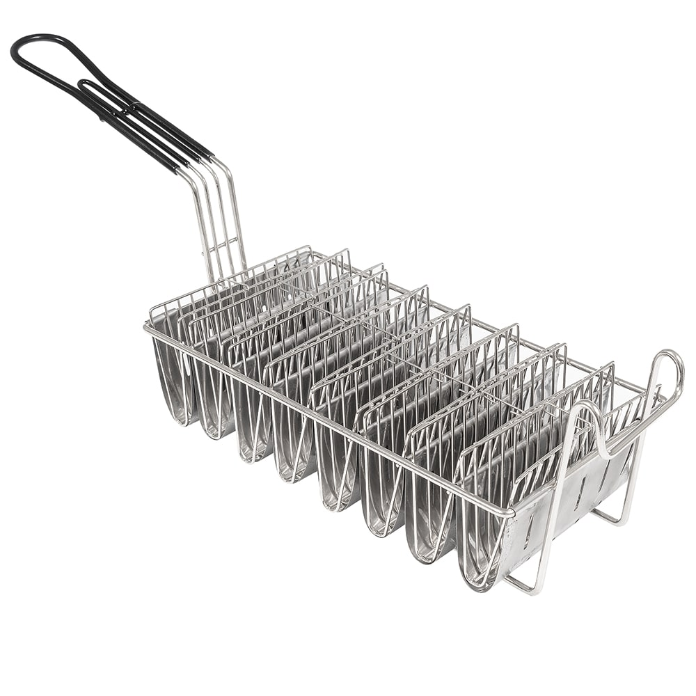Winco TB-8 Taco Basket w/ 8 Shell Capacity