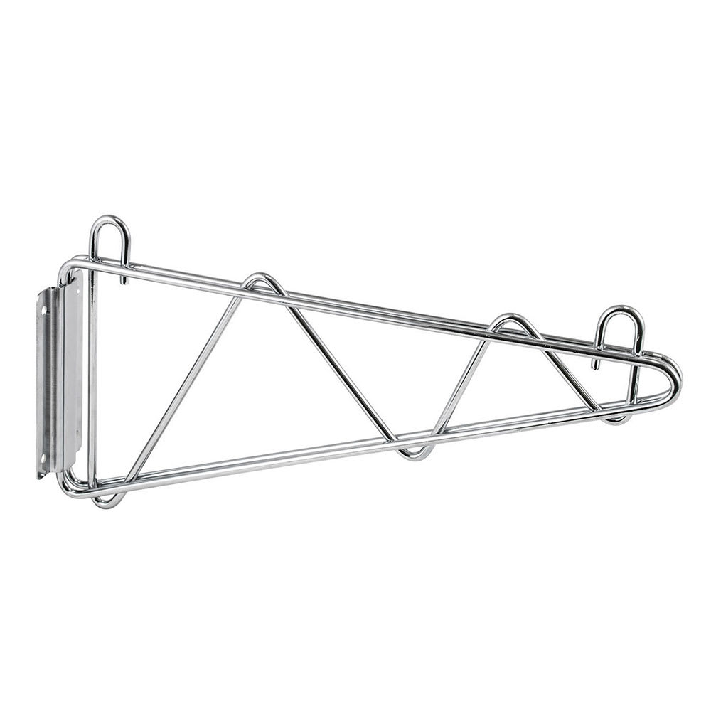"Winco VCB-24 24"" Wire Wall Mounted Shelving Bracket - Mounting Hardware Included"