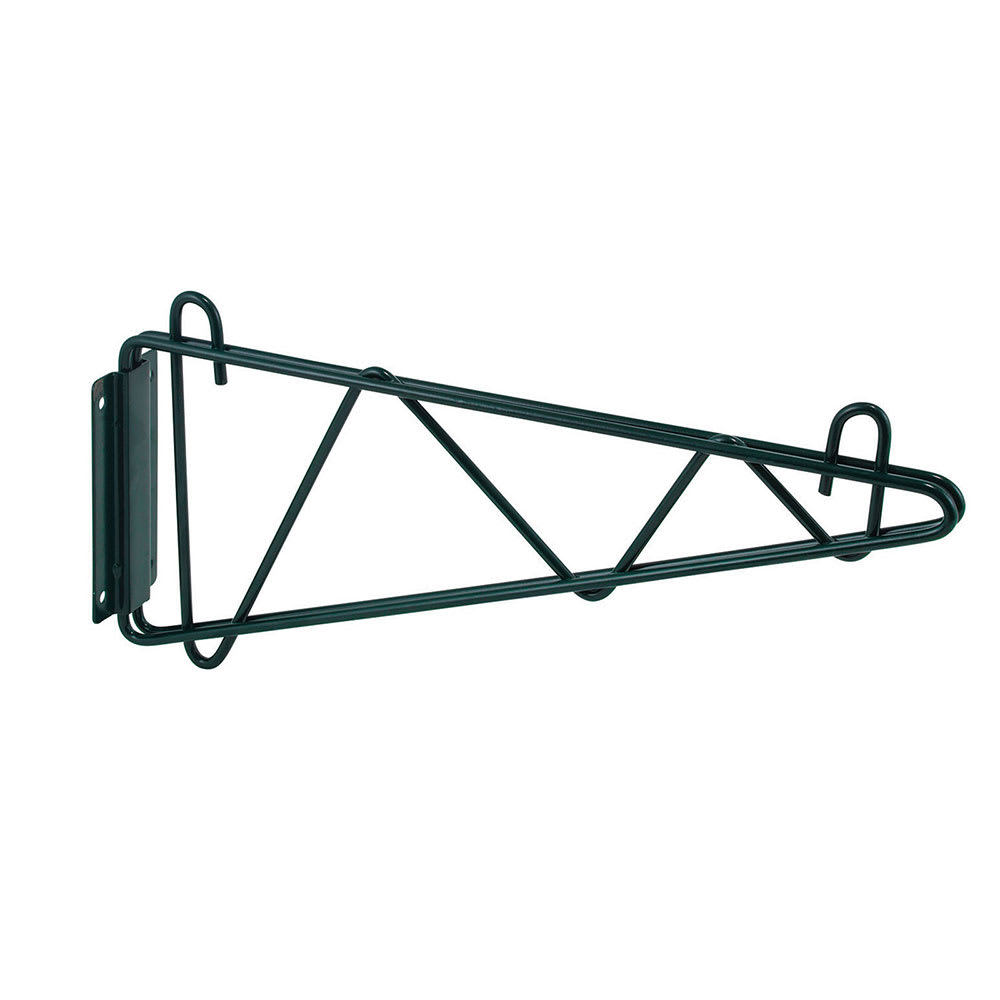 "Winco VEXB-18 Bracket for 18"" Deep Wall Mounted Shelf, Epoxy Coated"