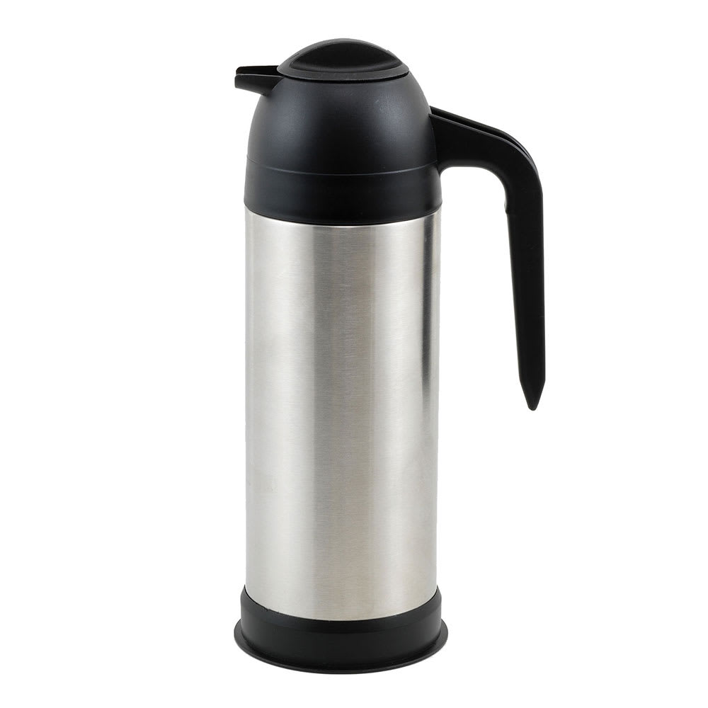 Winco VSS-33 33 oz Coffee Server, Insulated, Stainless