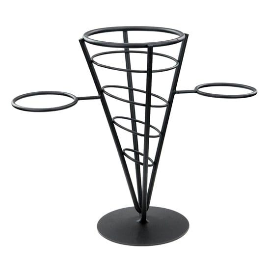 "Winco WBKH-5 French Fry Basket, 4-5/8""Diameter x 9-3/8""H, Wire"