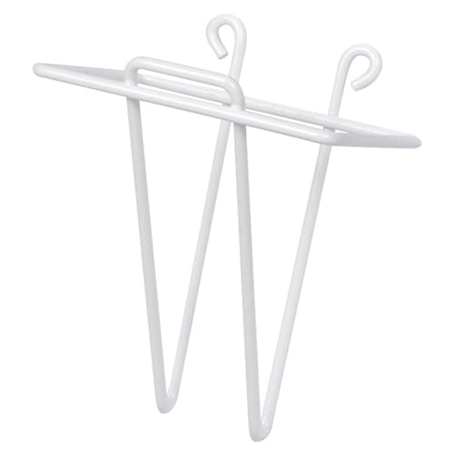 Winco WHW-4 Ice Bin Scoop Holder, 4-1/4 x 5-3/8 in, Plastic Coated Wire