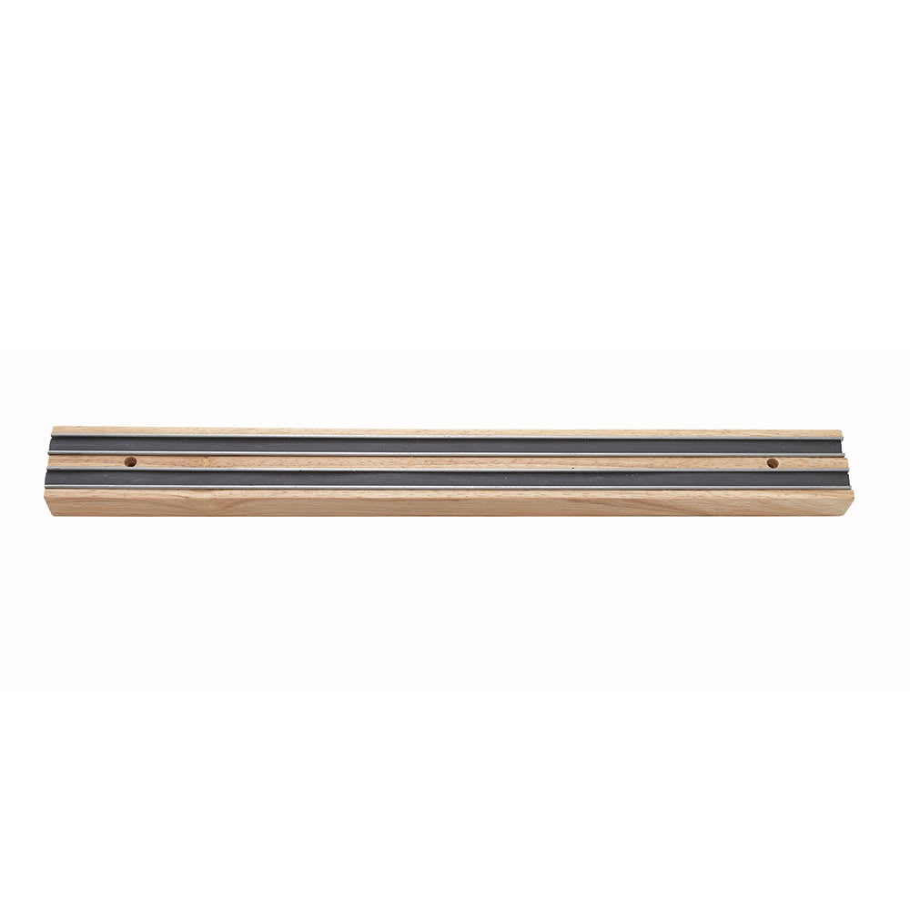 "Winco WMB-12 12"" Wooden Magnetic Bar"