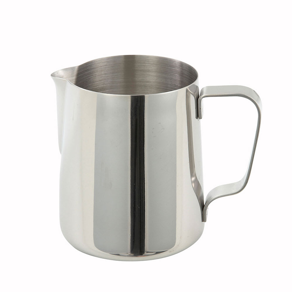 Winco WP-14 14 oz Pitcher, Stainless