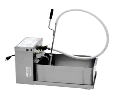 Winston F552A8 82.5 lb Commercial Fryer Filter - Suction, 120v