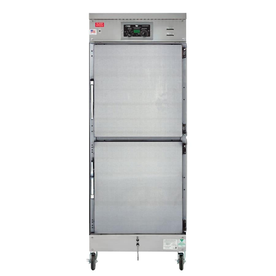 Winston HA4022 Full Height Mobile Heated Cabinet w/ (14) Pan Capacity, 120v