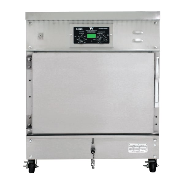 Winston HA4507 1/2-Height Mobile Heated Cabinet w/ (4) Pan Capacity, 120v