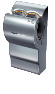 Dyson AB02 Dyson Airblade Automatic Hand Dryer, Quick, Efficient, Hygienic, Aluminum, 208 V