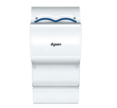 Dyson AB14 Airblade dB Automatic Hand Dryer - Wall Mount, White, 110-120v