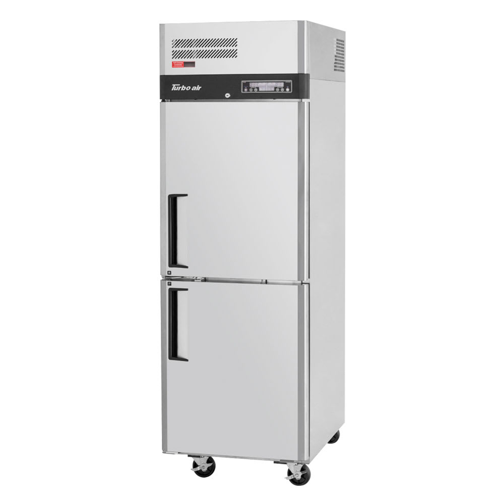 "Turbo Air JRF-19 26"" One Section Commercial Refrigerator Freezer - Solid Doors, Top Compressor, 115v"