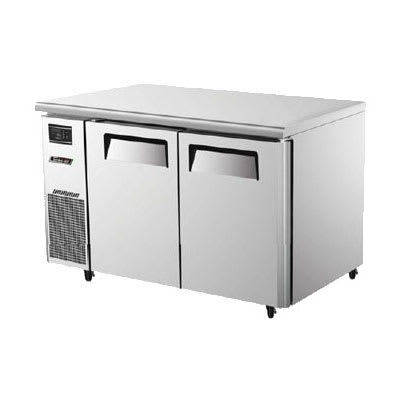 Turbo Air JUF-48 11 cu ft Undercounter Freezer w/ (2) Sections & (2) Doors, 115v