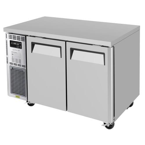 Turbo Air JUR-48-N6 9.9 cu ft Undercounter Refrigerator w/ (2) Section & (2) Door, 115v
