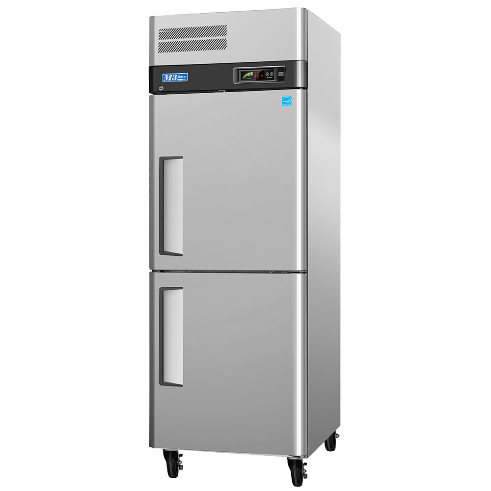 """Turbo Air M3F24-2 28.75"""" Single Section Reach-In Freezer, (2) Solid Doors, 115v"""