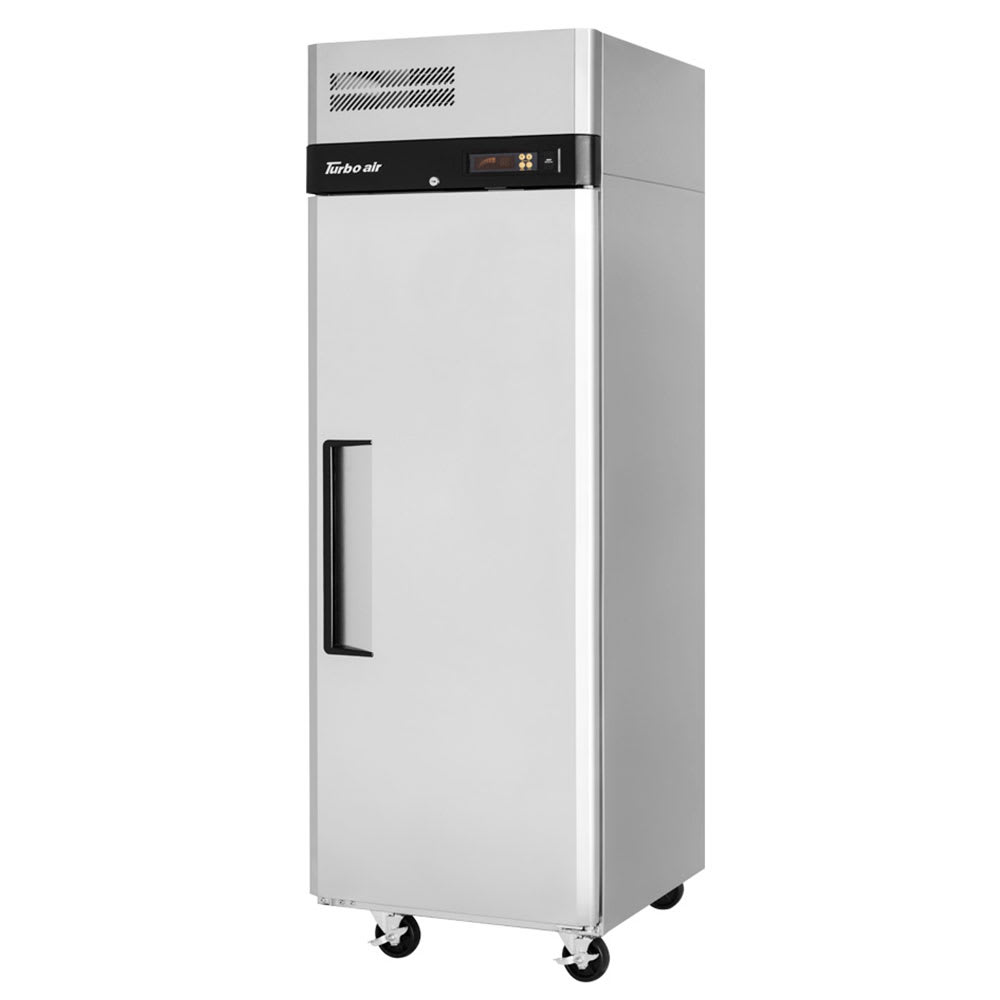 """Turbo Air M3R24-1-N 28.75"""" Single Section Reach-In Refrigerator, (1) Solid Door, 115v"""