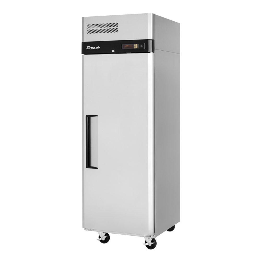"""Turbo Air M3R24-1-N 28.75"""" One Section Reach-In Refrigerator, (1) Solid Door, 115v"""