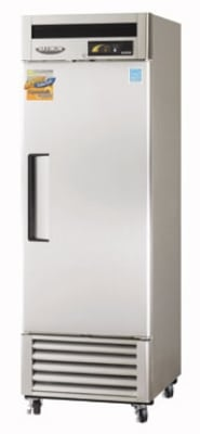 """Turbo Air MSF-23NM 27"""" Single Section Reach-In Freezer, (1) Solid Door, 115v"""