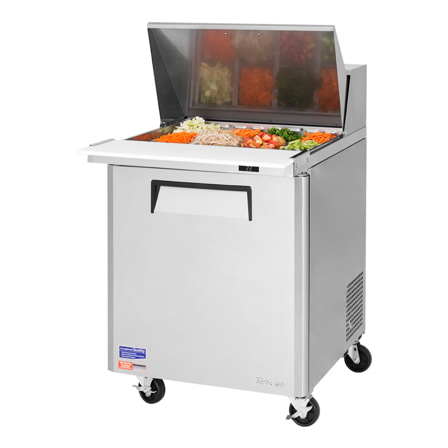 "Turbo Air MST-28-12-N 28"" Sandwich/Salad Prep Table w/ Refrigerated Base, 115v"