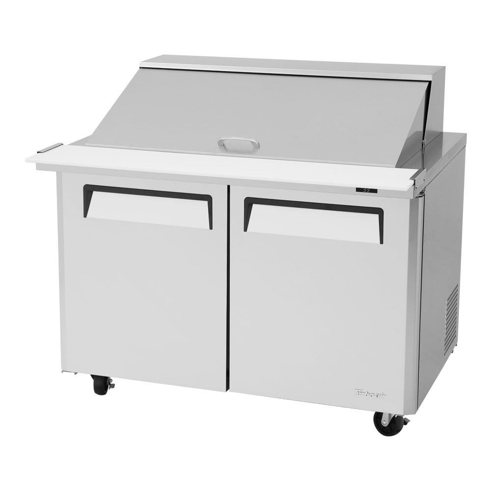 "Turbo Air MST-48-18-N 48"" Sandwich/Salad Prep Table w/ Refrigerated Base, 115v"