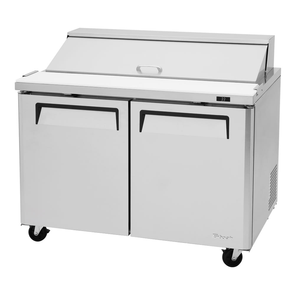 "Turbo Air MST-48-N 48"" Sandwich/Salad Prep Table w/ Refrigerated Base, 115v"