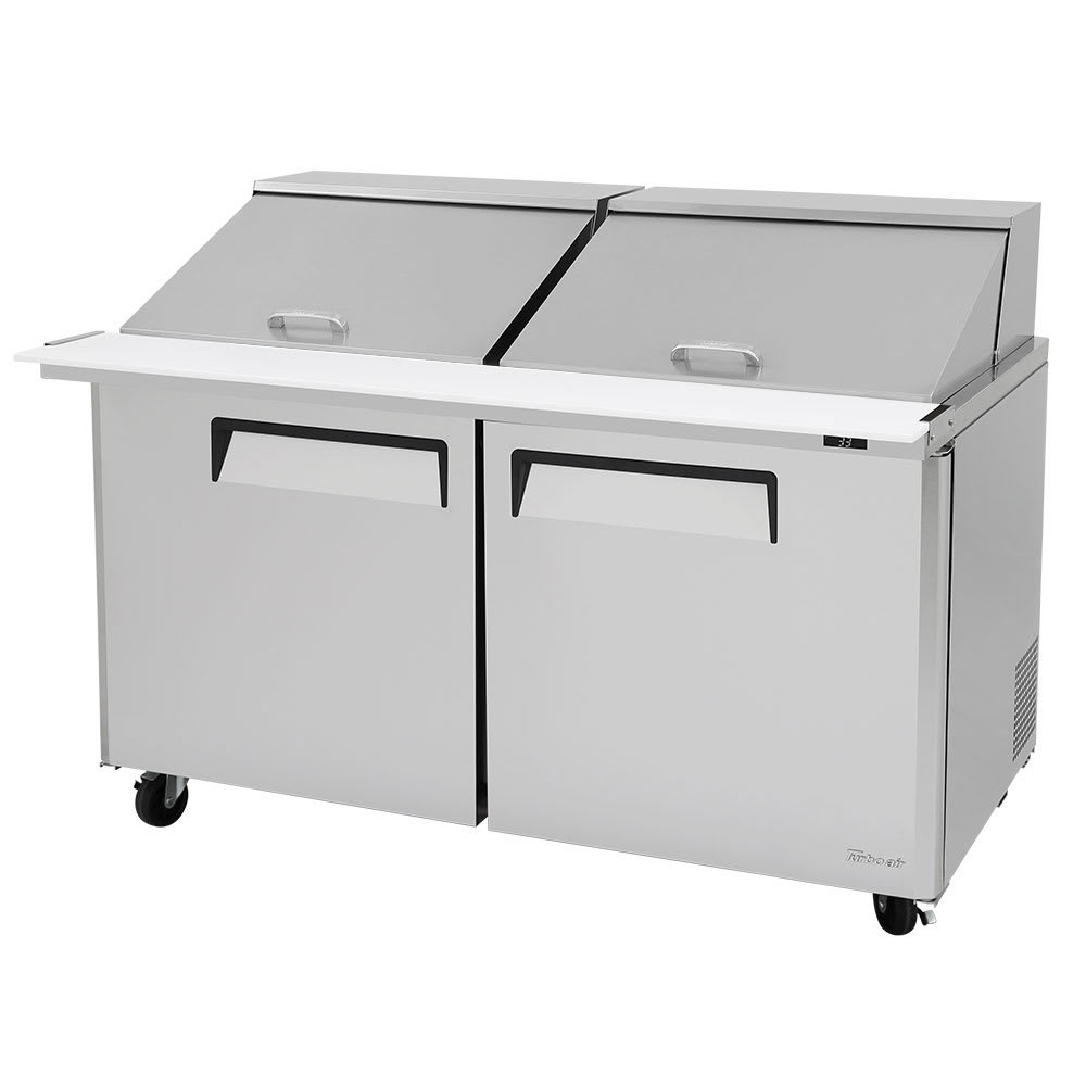 "Turbo Air MST-60-24-N 60"" Sandwich/Salad Prep Table w/ Refrigerated Base, 115v"